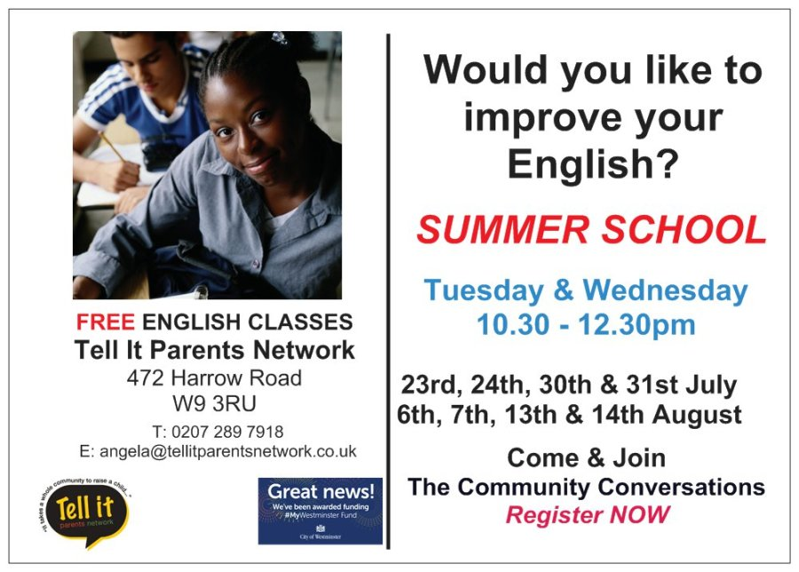 ESOL-Summer school