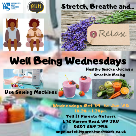Well Being Wednesdays 2!